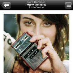 LDR playlist- Many the Miles- Sara Bareilles