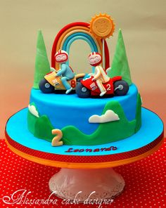 Cake moto. by Alessandra Cake Designer, via Flickr