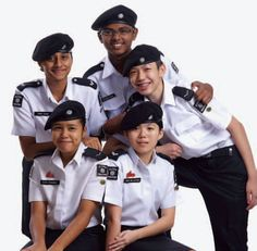 singapore Cadet - International Friendship