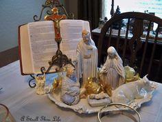 Nativity Tablescape