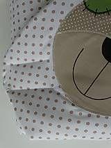 Textil - Rýchlozavinovačka s medvedíkom - 5017205_