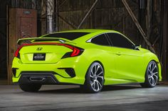 2016 Honda Civic is the featured model. The 2016 Honda Civic si Lime Green image is added in car pictures category by the author on Jun Honda Civic Sport, Honda Civic Coupe, Honda Civic Hatchback, 2015 Honda Civic, Voiture Honda Civic, Civic Jdm, Honda S2000, Honda Accord, Cr V Honda