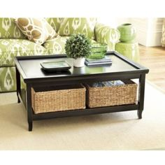 Our Morgan Coffee Table offers a hard-to-find combination of generous serving space with hidden storage and does it all with a stylish, casual flair.