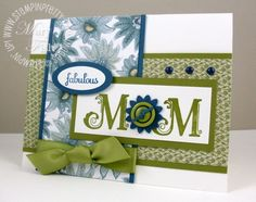 The colors, the layout, the paper....love everything about this card!