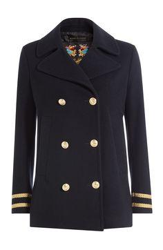 SEAFARER Pea Coat. #seafarer #cloth #casual jackets