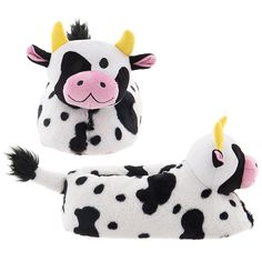 Fun Cow Slippers for Adults – What could be move fun than funny cow slippers on your feet?