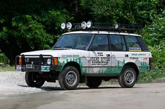 Land Rover Great Divide Expedition Auction
