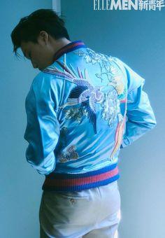 Sehun, Exo Kai, Kim Joon, Kim Min Seok, Rain Jacket, Bomber Jacket, Gucci Brand, Korean Brands, Male Magazine
