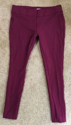 Clothing, Shoes & Accessories Loft Pink Size 0 100% Linen Marisa Pants Trousers Lightweight Summer Career Pants