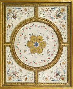 JEAN ANTOINE WATTEAU VALENCIENNES 1684 - 1721 NOGENT-SUR-MARNE CEILING DECORATION