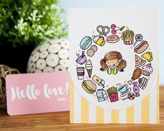 How cute are these stamps!!??! So I stumbled upon Love Cynthia's Instagram on accident one day while browsing, and during that time she didn't have any stamp sets. I followed her just for inspirati...