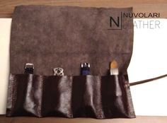 Leather Watch Roll. Leather Watch Case. Tool Roll. Roll Pencil Case. 3 slots. 4 slots. 5 slots. 6 slots. Watch Roll. Roll Case. Travel Case di NuvolariLeather su Etsy
