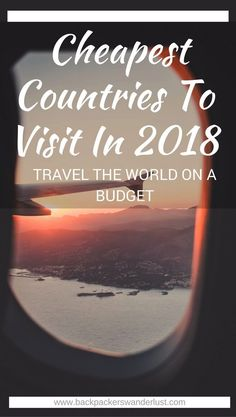 Cheap And Backpacker Friendly Countries To Visit In 2018 | Cheapest Countries | Budget Travel | Adventure | South East Asia | Affordable Destination | Backpacking | Must Visit | Do Not Miss | Laos | Cuba | Indonesia | Morocco | Egypt | South Africa | Hungary | Guatemala | Portugal | Adventure | Photography | Backpackers Wanderlust | #cheapestcountries #travelinspiration #backpacking Guatemala Photography Pour information Accéder à notre site https://storelatina.com/guatemala/travelling