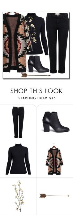 """#37"" by kgarden ❤ liked on Polyvore featuring Current/Elliott, Giuseppe Zanotti, Rumour London, Pier 1 Imports and Creative Co-op"