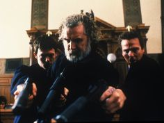 Sean Patrick Flanery, Norman Reedus and Billy Connolly in The Boondock Saints