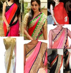 DIY Saree ideas, do it yourself saree ideas, how to design your own sarees