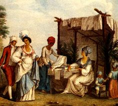 Creole communities developed from the intermixing of African and European populations.