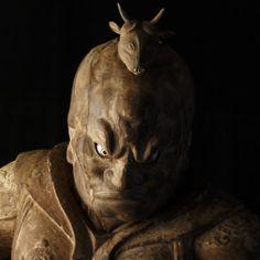 招杜羅大将像-shoutorataishouzou- (Catura) One of 12 persons' guardian deity. 薬師如来(Yakushi Nyorai) is protected. かんなみ仏の里美術館(kannamihotokenosatobizyutukan)