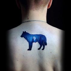 Wolf Back Tattoo Designs For Men Fierce Ink Ideas - Join The Pack Of Fiercely Devoted Wolves With The Top Best Wolf Back Tattoo Designs For Men Explore Cool Masculine Animal Ink Ideas And Body Art Small Back Tattoos, Small Sister Tattoos, Small Tats, Wolf Tattoos, Animal Tattoos, Tatoos, Nature Tattoos, Dream Catchers, Tattoo Designs For Women