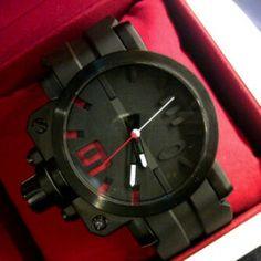 Jam Tangan Oakley Gear Box Black Red Murah Replika KW Super Rp 195.000 db4d36ae01