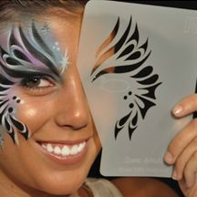 Professional HD Makeup - Graftobian - Airbrush Stencils