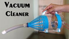 How to Make a Vacuum Cleaner using bottle - Easy Way