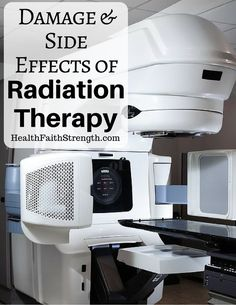 The idea behind radiation is that by damaging the cancer cells' DNA, it will cause enough damage that it can't be repaired, which causes the cancer cells to die   HealthFaithStrength.com