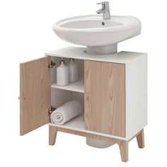Buy Argos Home Apartment Under Sink Unit - Two Tone at Argos. Thousands of products for same day delivery or fast store collection. Under Sink Unit, Under Sink Storage Unit, Small Bathroom Storage, Bathroom Shelves, Storage Units, Door Storage, College Bedroom Decor, Sink Units, Bathroom Design Luxury
