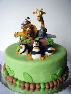 Madagascar Cake by HOPE Cookies & Cupcakes