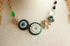 you're a gem ladies necklace @sweetshoppejewelrystore.com #handmadevintagejewelry
