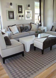 10 Luxurious White Living Room Ideas | Worthminer