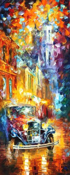 CITY VIBES 2 - By Leonid Afremov by Leonidafremov on deviantART