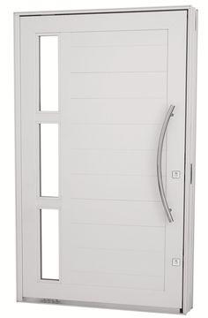 porta branca de aluminio entrada - Pesquisa Google