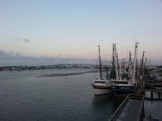 View from atop the Key West Express, in Ft Myers Beach