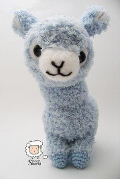 Ravelry: Alpaca Amigurumi pattern by Sheep Shaved
