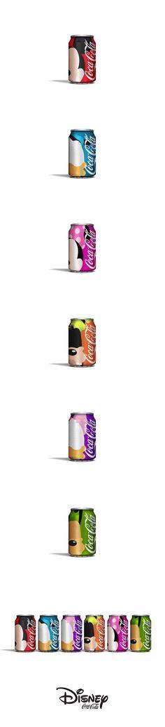 Disney Coke on Behance