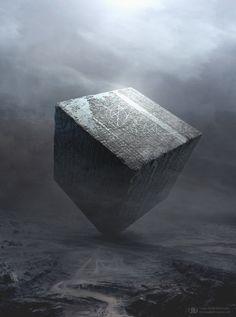 The Cube, Tierno Beauregard on ArtStation at https://www.artstation.com/artwork/the-cube-bc80b195-28d4-4965-b57e-d9037329b184