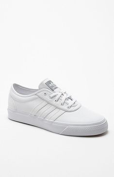 874c1d0290edae Adidas adi Ease White Leather Shoes – Mens Shoes – White White · White  Leather Shoes MensBurgundy ...