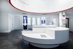 Creating architecture for brands in the digital age. Exhibition Space, Museum Exhibition, Display Design, Booth Design, Exibition Design, Museum Art Gallery, Space Images, Environmental Design, Design Museum