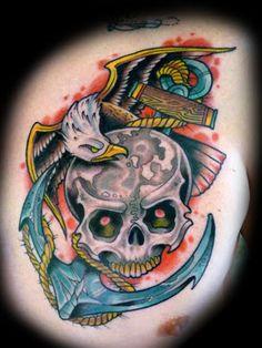 David Tevenal Tattoo Caveira, Drawing Sketches, Drawings, Tattoo Designs, Tattoo Ideas, Old And New, Tattoo Inspiration, Old School, Tatting