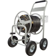 Hose Reel Cart Gardening hose reels Pinterest Gardens
