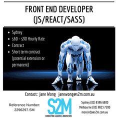 Job Posting, Project Management, Melbourne, Innovation, Connection, Career, Positivity, Technology, Digital