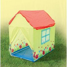 Sunny Days and Lady Birds. Back to nature with this cute garden themed House Play Tent. Irish Weather, Garden Games, Pop Up Tent, Discount Designer, Fun Games, Toy Chest, Branding Design, Toddler Bed, Home And Garden