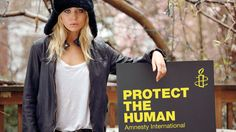 Protect the human and put a smile on Ashley Olsen's face - Activismo / Activism