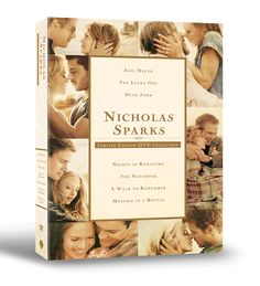 Nicholas Sparks movie collection DVD