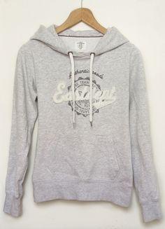 Kup mój przedmiot na #vintedpl http://www.vinted.pl/damska-odziez/bluzy/8971027-szara-wygodna-bluza-kangurka-hm