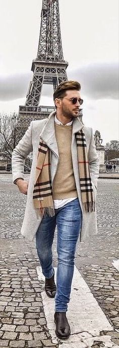 - with a fall business casual combo with a tan sweater white button. , Source by Casual Outfits Best Mens Fashion, Look Fashion, Autumn Fashion, Fashion Rings, Fashion Clothes, Fashion Boots, Fashion For Men Over 50, Man Clothes, Guy Fashion