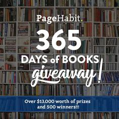 365 days of Books Giveaway