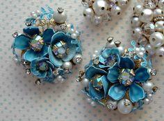 vintage blue  - Aunt Mabel