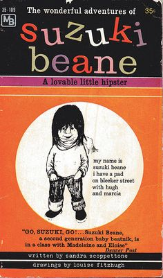Vintage beatnik book covers via Beckster